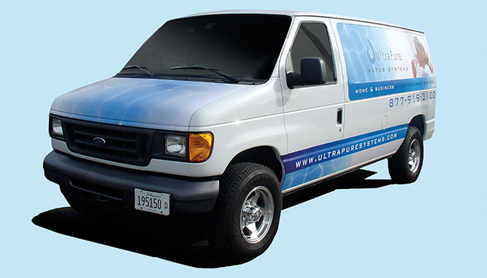 Vehicle Graphics: Front of Van